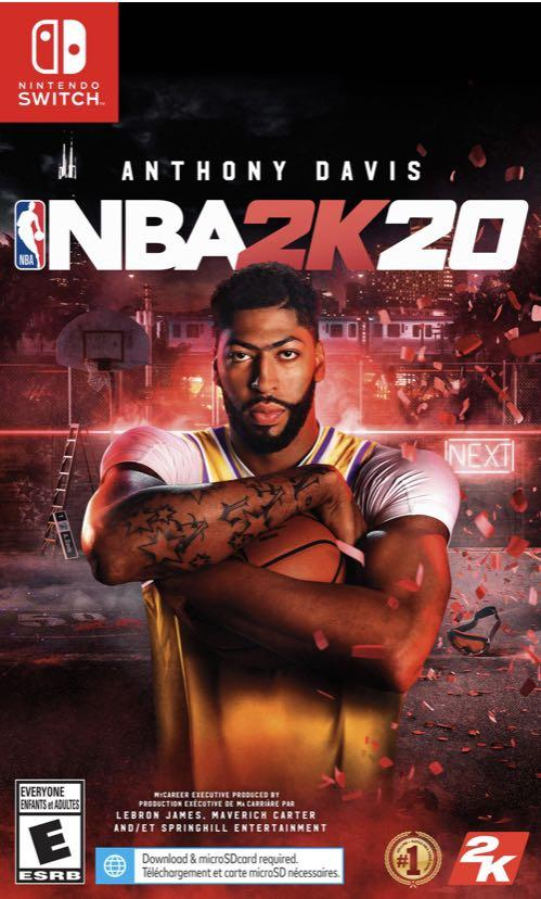 NBA2K20 Nintendo switch game!