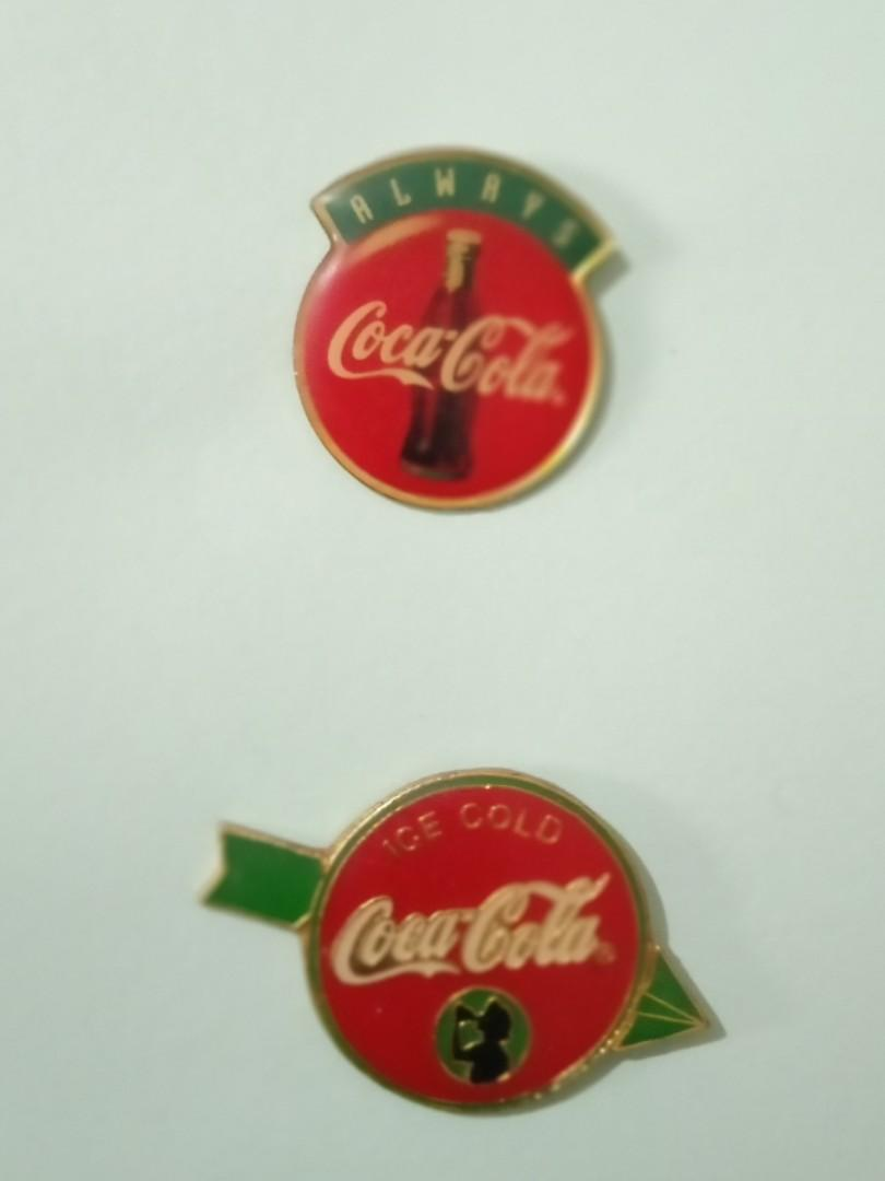 Pin cocacola