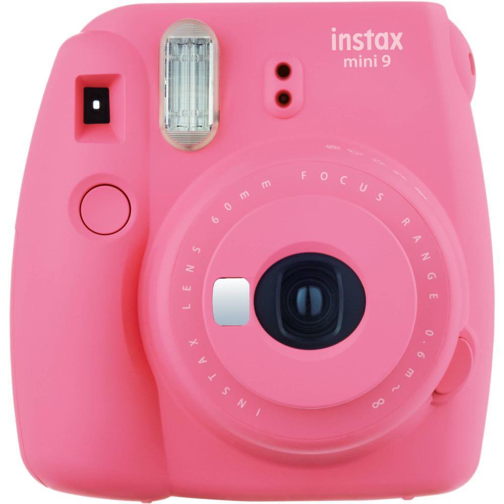 Pink Fujifilm Instax Mini 9 Camera