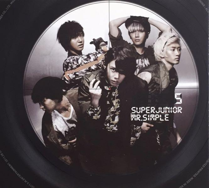 Super Junior 台壓B版空專 Mr.simple 💽