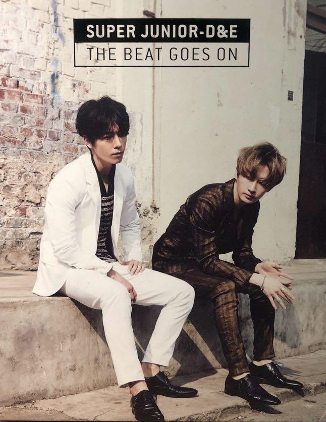 Super Junior D&E 韓版空專 The beat goes on 💽