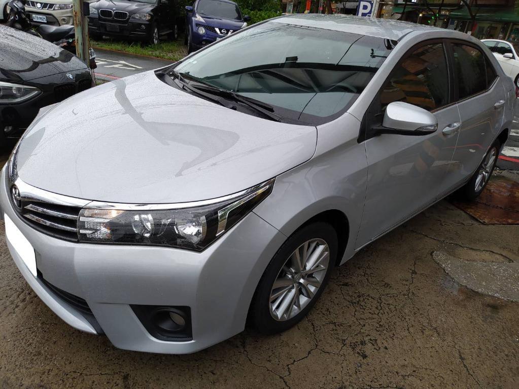 2015年Toyota豐田altis E版 銀
