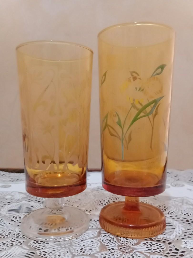 A Beautiful Vintage cup-glass