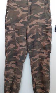 CAMO MILITARY PANTS