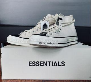 Converse x Fear of God Off White