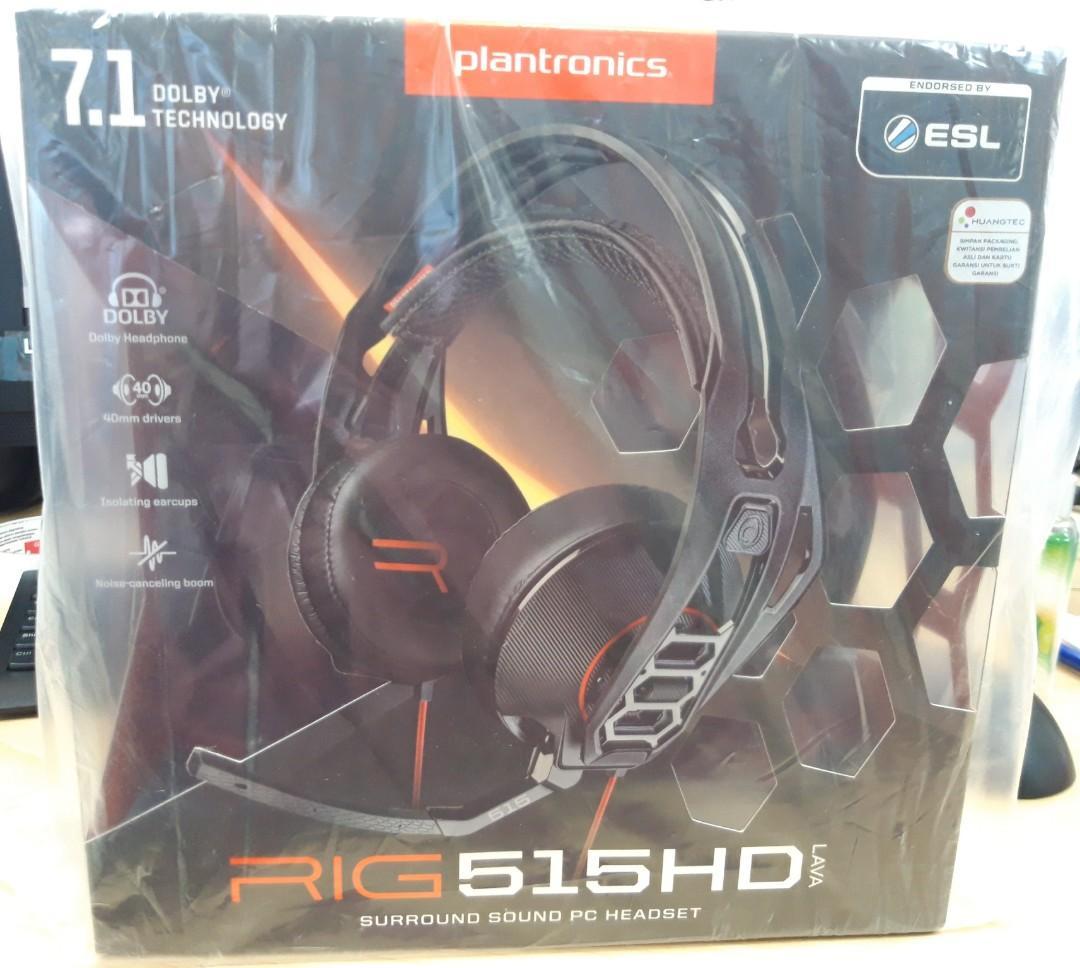 Headset Plantronics RIG 515 HD