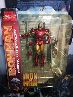 Marvel Legends Iron Man Concept Series Inferno Armor RARE