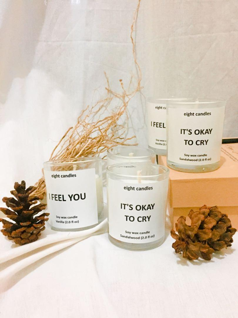 Lilin aromatherapy / lilin aroma / scent candle soy wax premium
