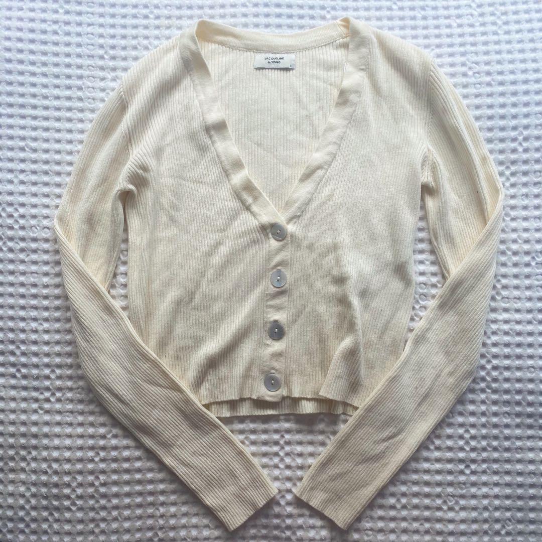 Long Sleeve Button Up Top / Cardigan