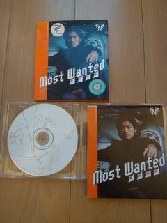 謝霆鋒most wanted CD