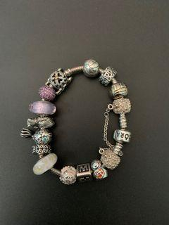 Pandora Bracelet- 14 Charms