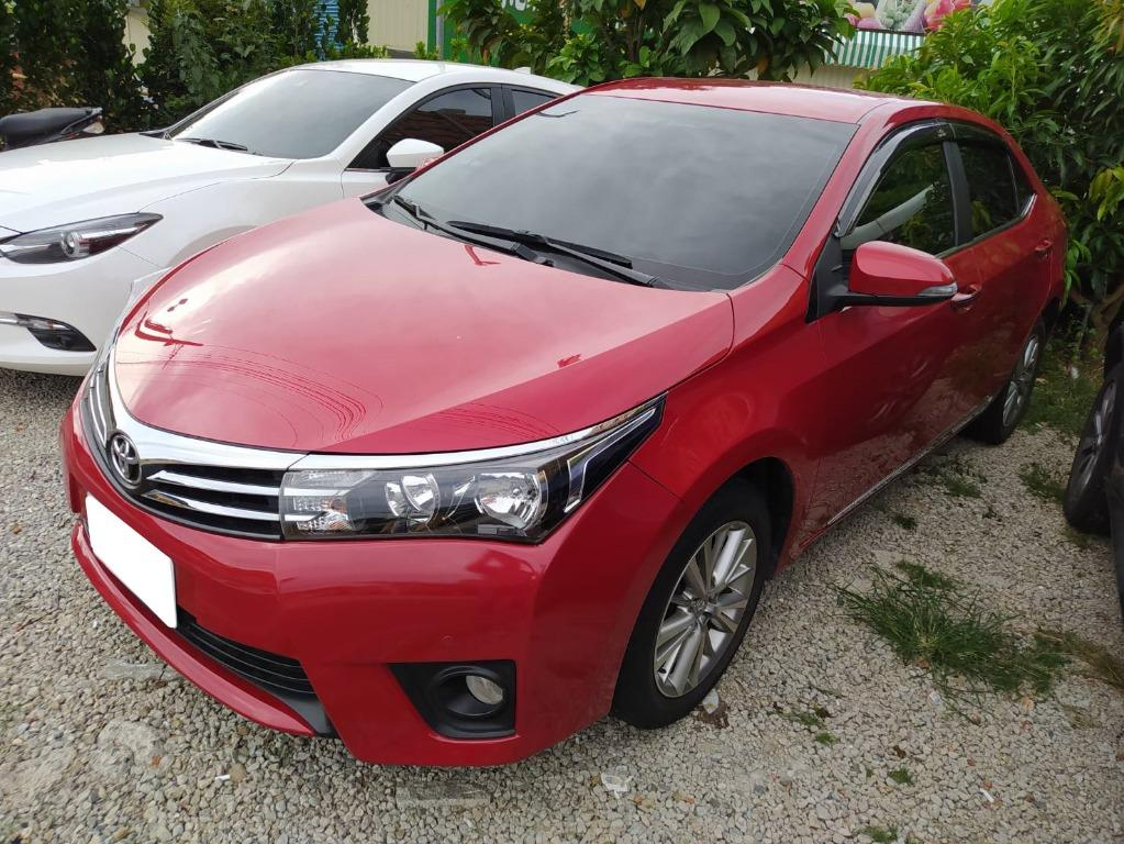 16年Altis+ 紅 豐田 Toyota 國民代步車 月付4000輕鬆購