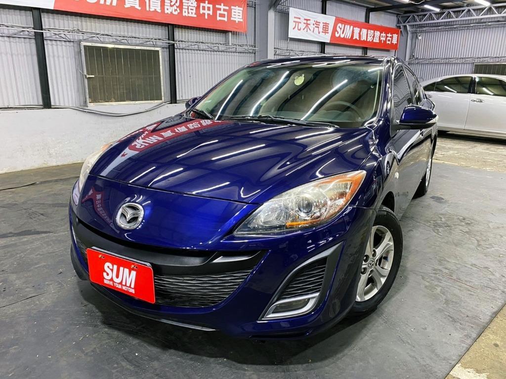 正2011年 新款微笑 Mazda3 1.6S 尊榮型頂級天窗