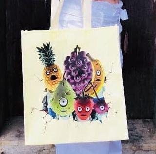 賣場贈品-水果殭屍購物袋 #送暖
