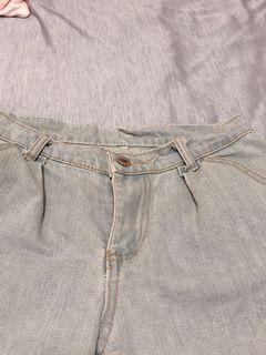 🤍✖️淡藍牛仔短褲