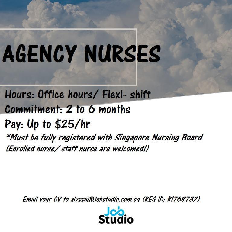 Agency Nurses (Staff Nurse/ Enrolled Nurse)
