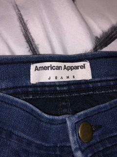 American apparel jeans! High waisted