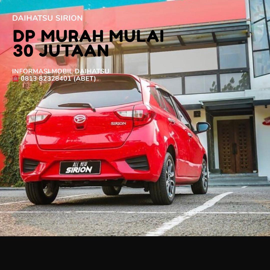 ANGSURAN MURAH Daihatsu Sirion mulai 4 jutaan. Daihatsu Fatmawati