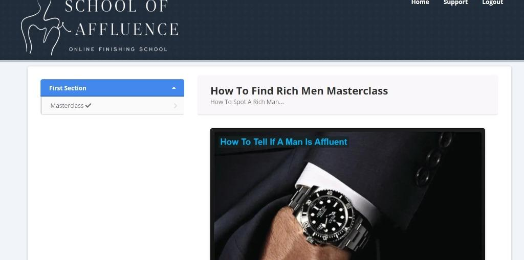 ANNA BEY HOW TO TELL IF A MAN IS WEALTHY MASTERCLASS