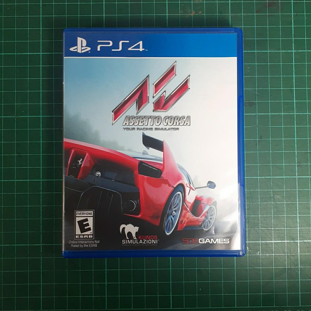 Assetto Corsa BD PS4 - Reg All