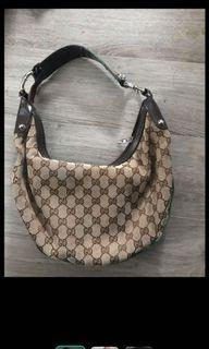 Authentic vintage Gucci bag  but don't have papers.   Has minor wear and tear. Asking $75