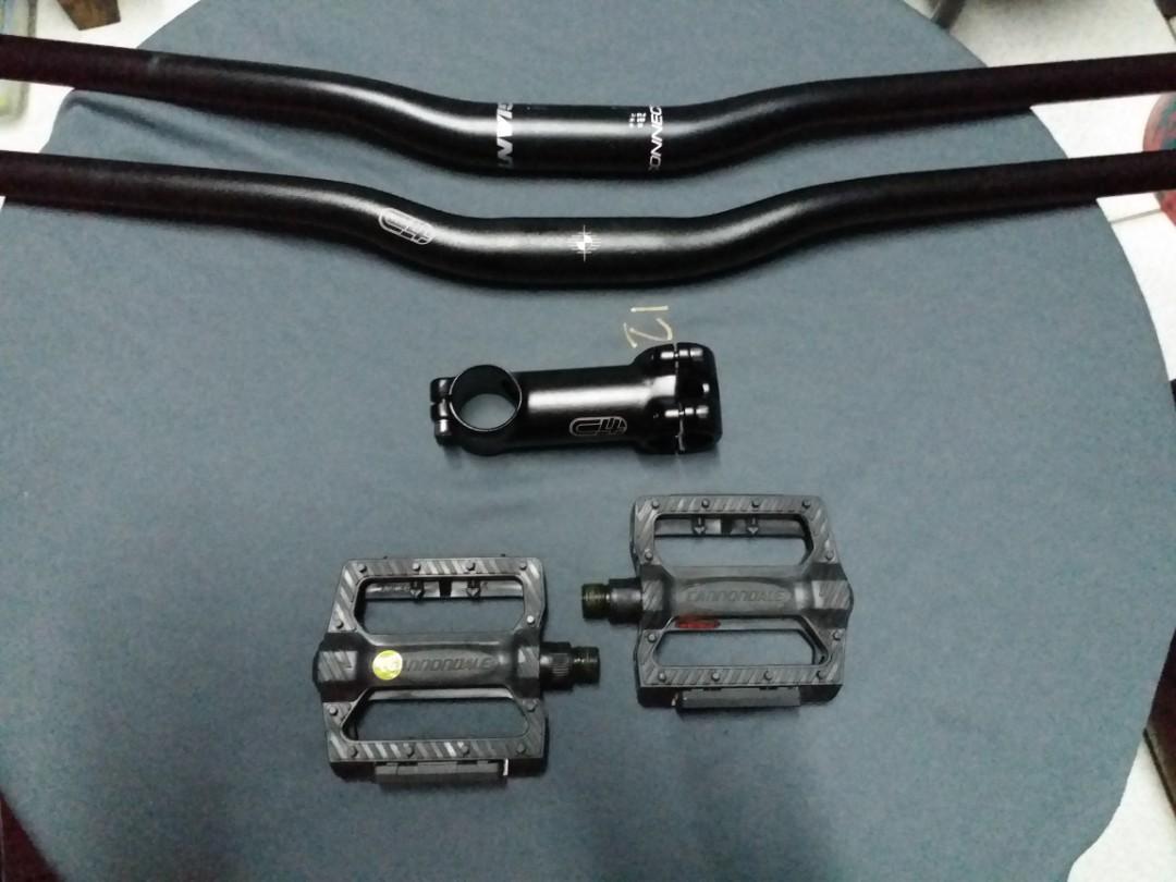 Bicycle parts:99.9.9% new ..kasi pinalitan ko agad.