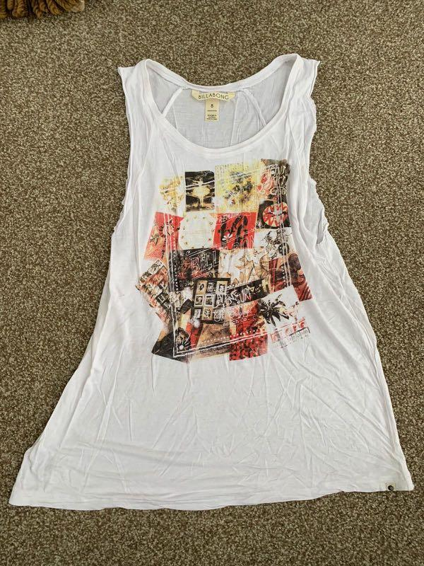 Billabong graphic tank