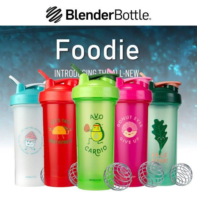 Blender Bottle Classic Foodie Limited Edition Water Bottle Shaker 28oz,  Furniture & Home Living, Kitchenware & Tableware, Water Bottles & Tumblers  on Carousell