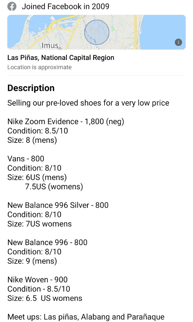 nike to vans size