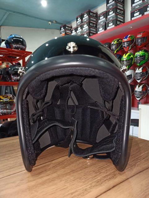 Custom Helmet Slim Head Replica 500-TX Black