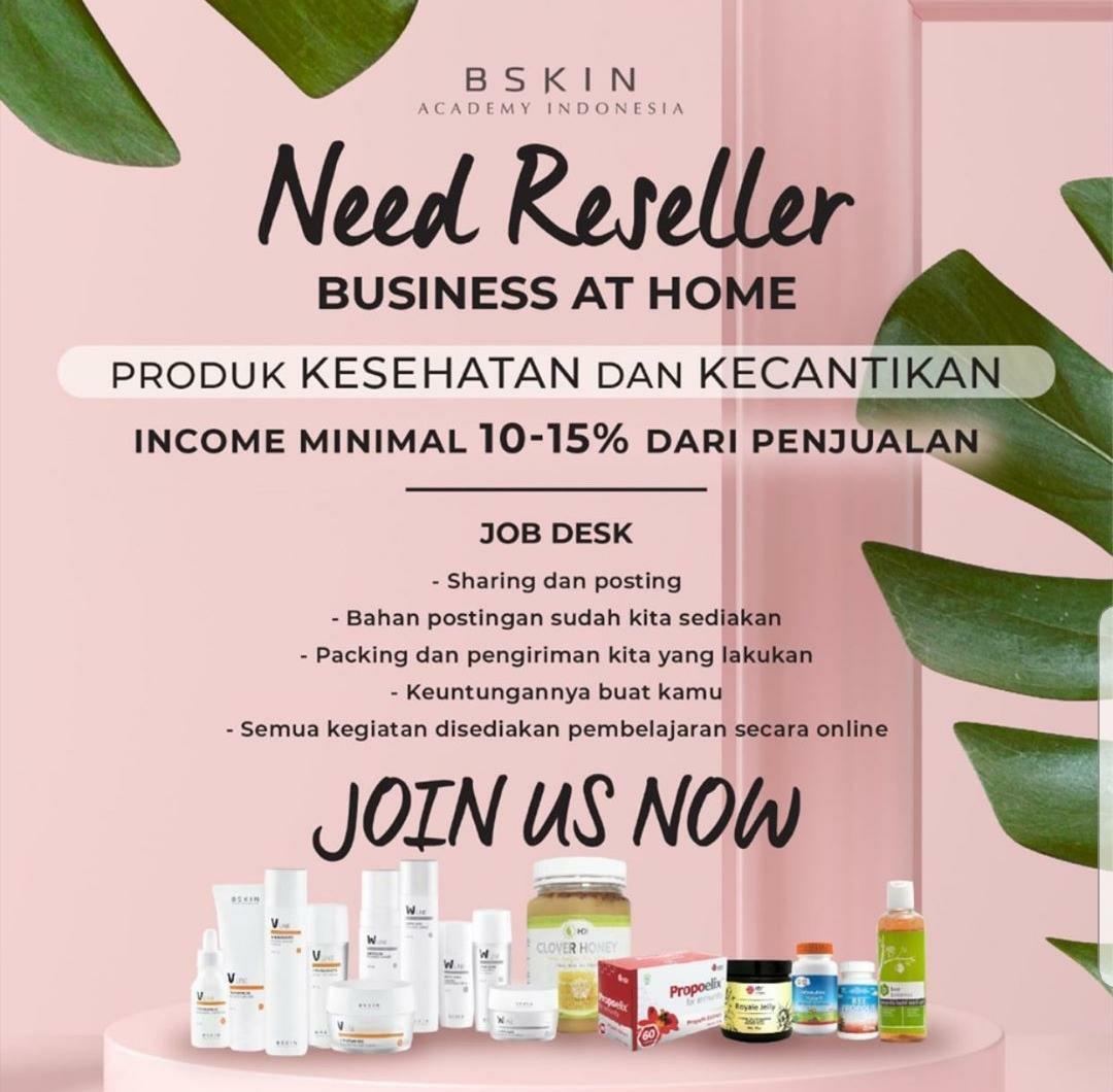 DICARI SEGERA RESELLER NETWORKER DISTRIBUTOR WORK FROM ANYWHERE UNLIMITED POTENTIAL INCOME low investment high return halal bpom