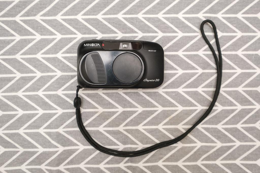 minolta capios 20 傻瓜相機