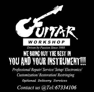Professional Repair/Service/Setup/Electronics/Restoration/Customization/Restringing.