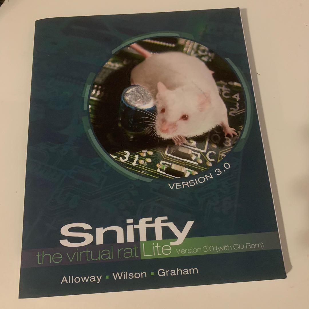 PSY100 SNIFFY THE VIRTUAL RAT LITE CD ROM ADAPTRAK
