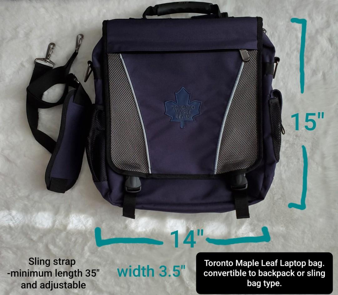 Toronto Maple leafs Laptop backpack / sling bag