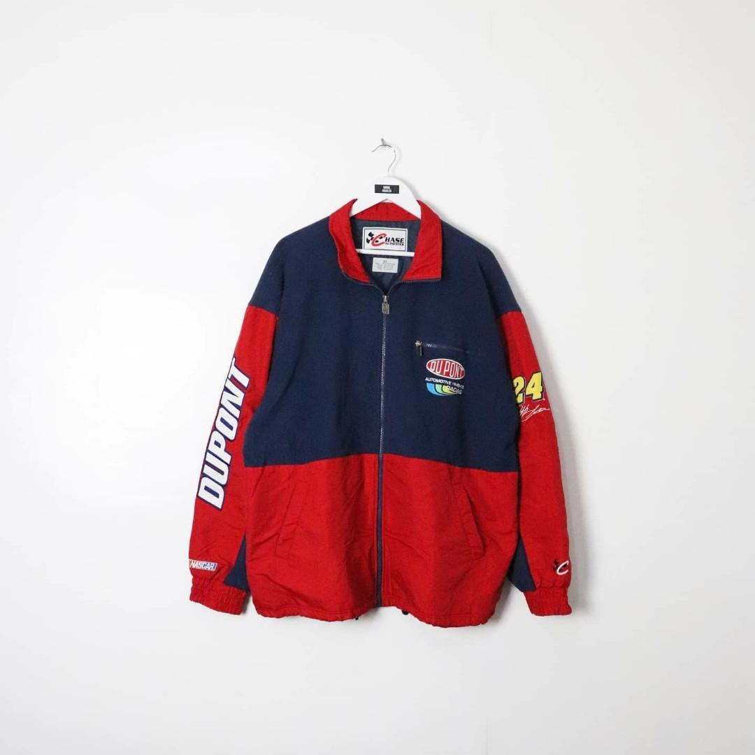 Vintage Jeff Gordon Nascar Racing Jacket Men S Fashion Clothes Outerwear On Carousell