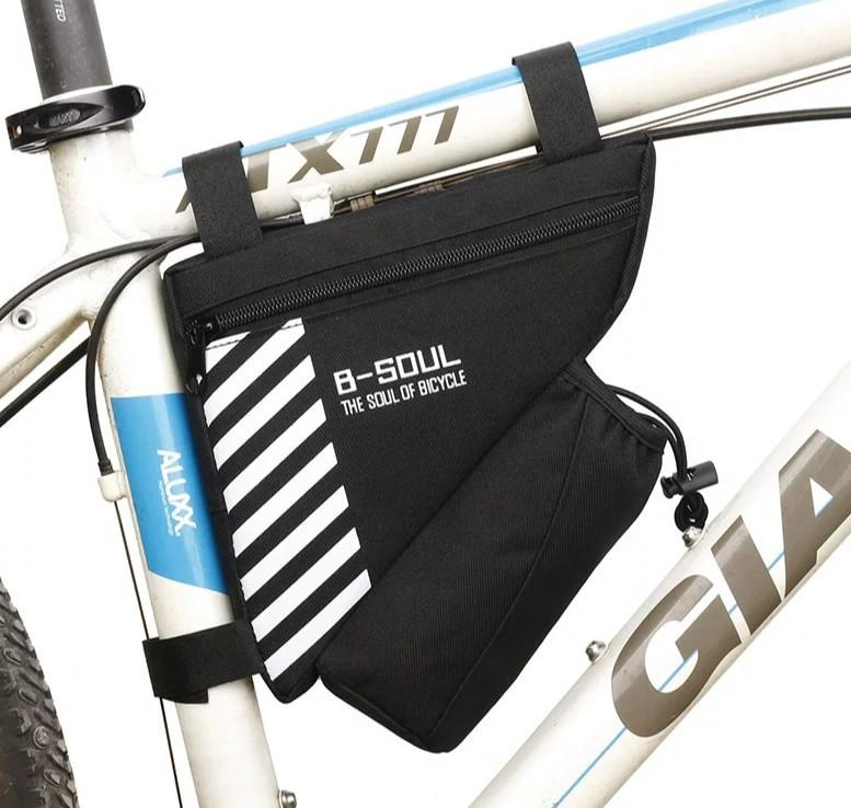 Waterproof Bike Triangle Bag For Bicycle Front Frame Bag Cycling Top Tube Bag Water Bottle Bicycles Pmds Parts Accessories On Carousell