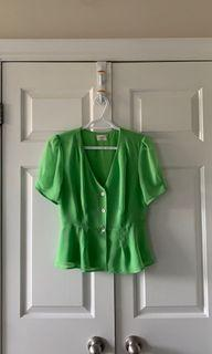 wilfred BUTTON-FRONT blouse