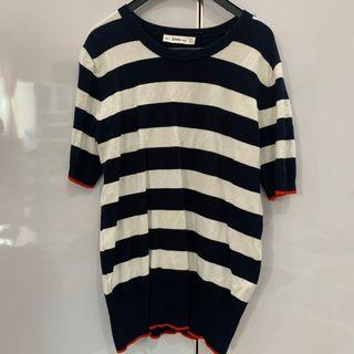 ZARA knit stripes