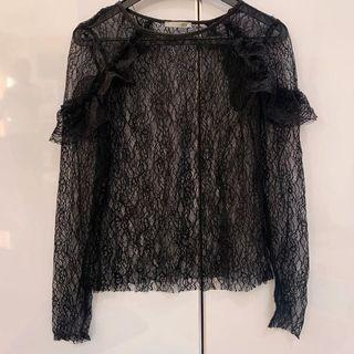 ZARA transparent blouse
