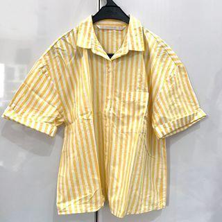 ZARA yellow stripes