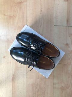 韓國代購 低跟皮鞋