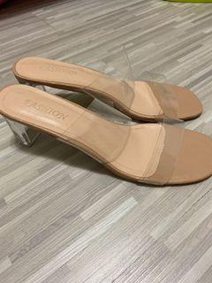 夏日沙灘必備 透明涼鞋拖鞋