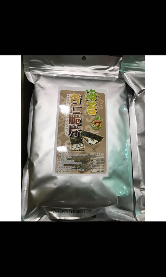 新藻 海苔杏仁脆片 280克/280g