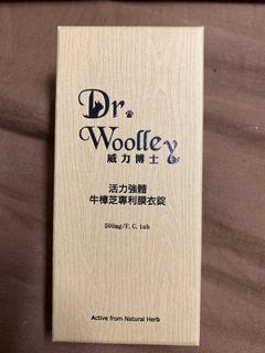 威力博士 牛樟芝 Dr.Woolley 專利膜衣錠
