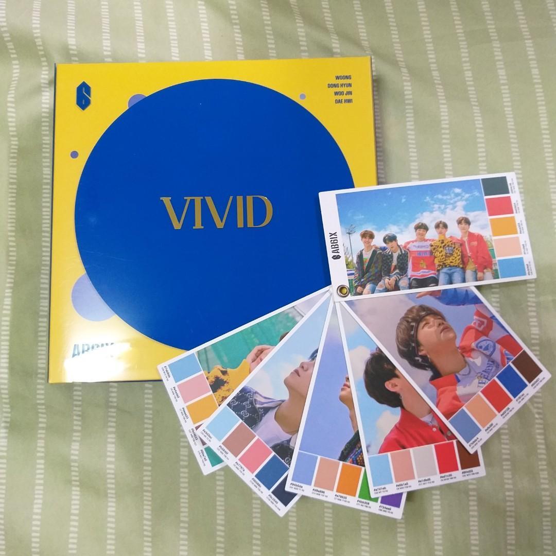 AB6IX 2ND EP VIVID V版