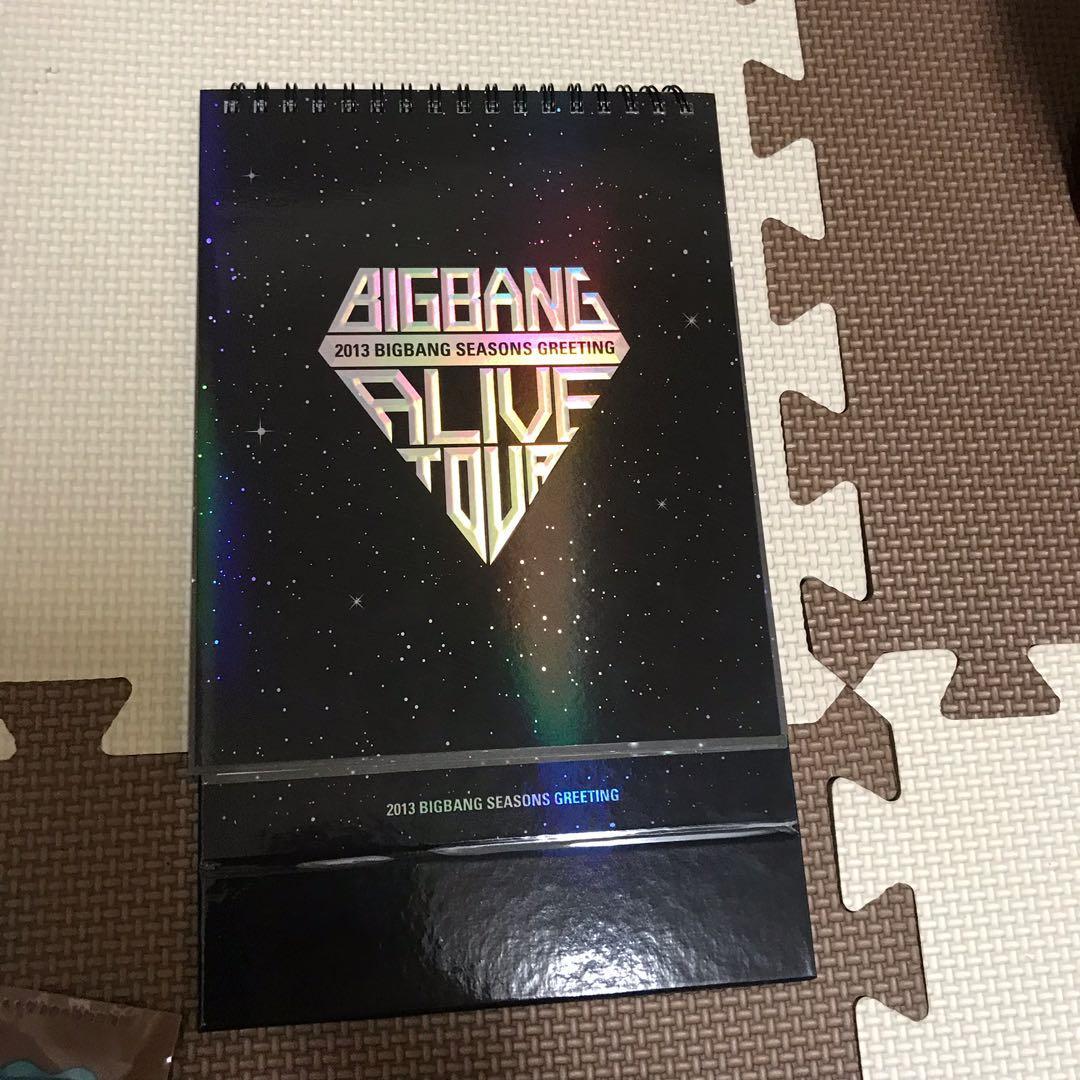 BIGBANG 2013月曆