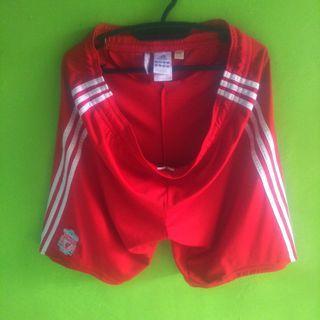 Celana bola Liverpool home 2008 Adidas Original size L
