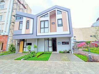 Compact House 2 lantai Jababeka Residence Cikarang Bekasi Dijual Rp 370 Juta