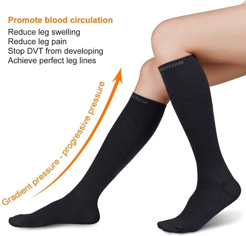 Compression Pain Relief Socks, 20-30 mmHg, (Size S/M)